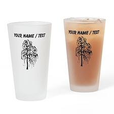 Custom Willow Tree Drinking Glass