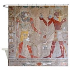 Deir El Bahri Shower Curtain