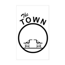 The Town Rectangle Decal