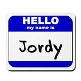 hello my name is jordy  Mousepad