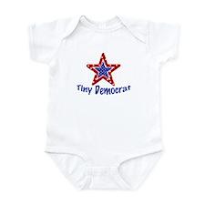 Tiny Democrat STAR Onesie