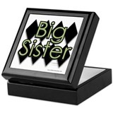 Big Sister grn diamond Memory  Box