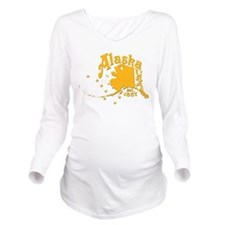 ALASKA 1867 GOLD Long Sleeve Maternity T-Shirt
