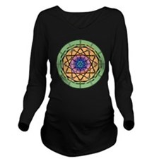 circle star 2.png Long Sleeve Maternity T-Shirt