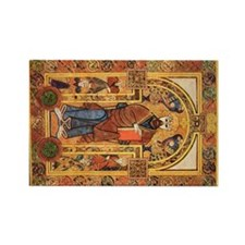 Book of Kells Rectangle Magnet
