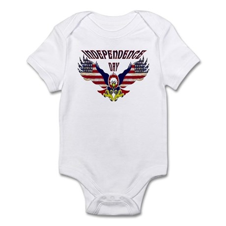 Eagle w/ Flag Wings (Independence Day) Infant Bod