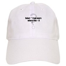 Select * from users - Baseball Cap