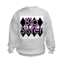 Big sister pink diamond Sweatshirt