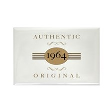 1964 Authentic Original Rectangle Magnet