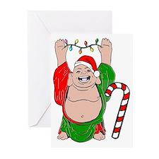 Christmas Buddha Greeting Cards (Pk of 20)