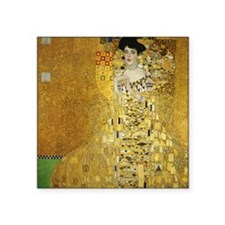 "Adele by Klimt Square Sticker 3"" x 3"""