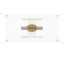 1954 Authentic Original Banner