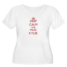 Keep Calm and Hug Kylee Plus Size T-Shirt