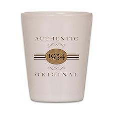 1934 Authentic Original Shot Glass