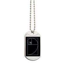 Cute Golden mean Dog Tags