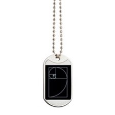 Unique Golden mean Dog Tags