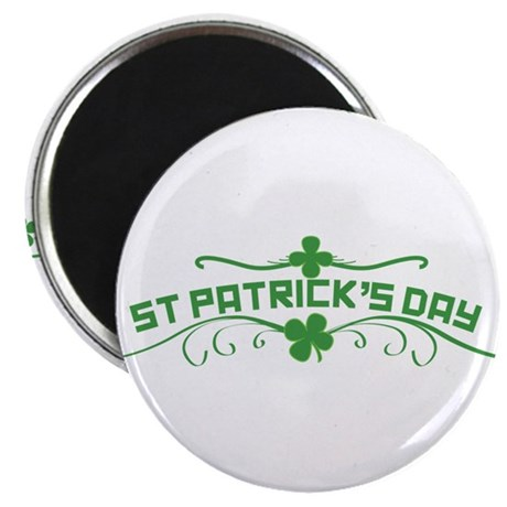 "St Patricks Day Floral 2.25"" Magnet (100 pack)"