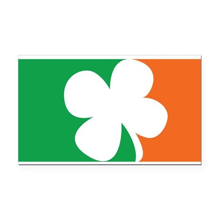 Pro Irish Rectangle Car Magnet