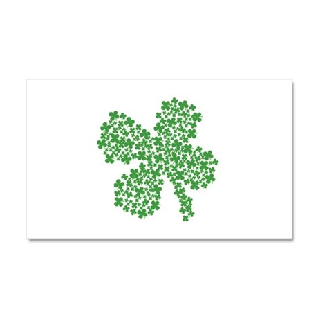 Clover Clovers Car Magnet 20 x 12