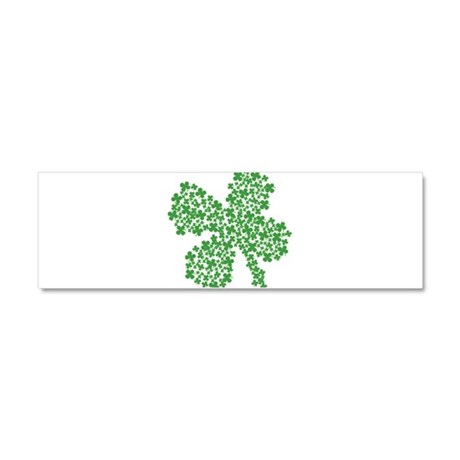 Clover Clovers Car Magnet 10 x 3