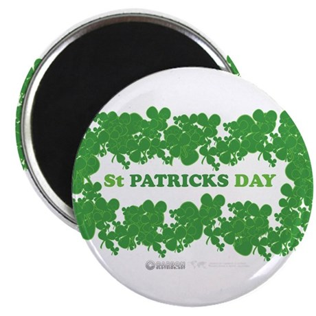 """St Patrick's Day Reef 2.25"""" Magnet (10 pack)"""