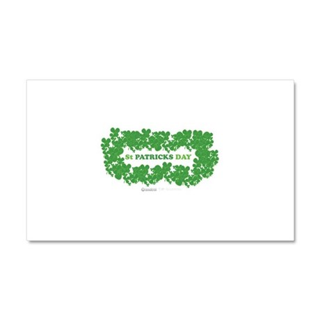 St Patrick's Day Reef Car Magnet 20 x 12