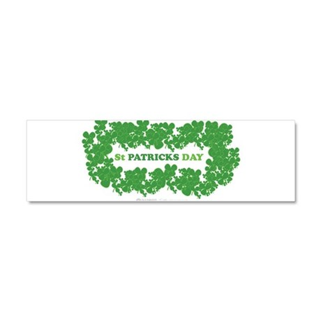 St Patrick's Day Reef Car Magnet 10 x 3