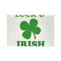 Luck O' Irish Clover Rectangle Magnet (10 pack)