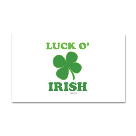 Luck O' Irish Clover Car Magnet 20 x 12