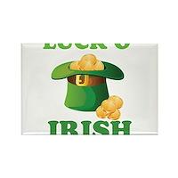 Luck o' Irish Rectangle Magnet (100 pack)