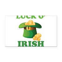 Luck o' Irish Rectangle Car Magnet