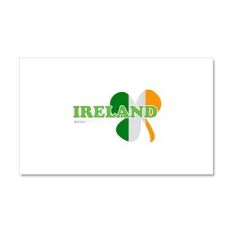 Ireland Clover Flag Car Magnet 20 x 12