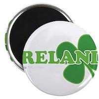 """Ireland Lucky Clover 2.25"""" Magnet (10 pack)"""