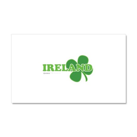 Ireland Lucky Clover Car Magnet 20 x 12