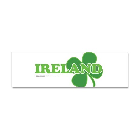Ireland Lucky Clover Car Magnet 10 x 3