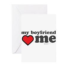 My Boyfriend Loves Me Greeting Cards (Pk of 10)