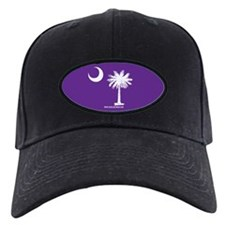 SC Palmetto Moon State Flag Purple Baseball Hat