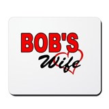 BOB'S WIFE Mousepad