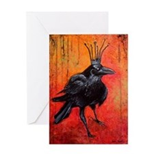 Darlington, The Raven King Greeting Card