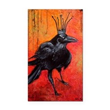 Darlington, The Raven King Rectangle Car Magnet