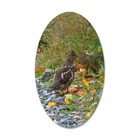 Partridge 2 20x12 Oval Wall Decal