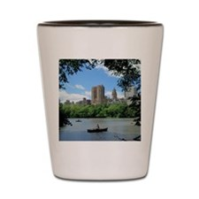 NYC view from Central Park Shot Glass