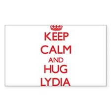 Keep Calm and Hug Lydia Decal