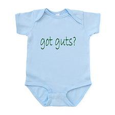 got guts? Infant Bodysuit