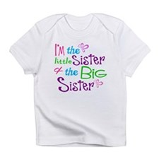 Im a little big sister Infant T-Shirt