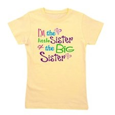 Im a little big sister Girl's Tee