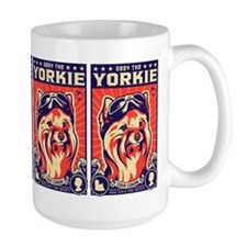 Obey the YORKIE! Propaganda UK Pilot Mugs