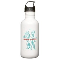 Hemlock Grove Werewolf Water Bottle