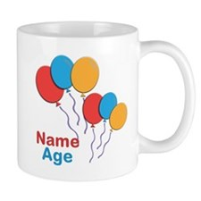 CUSTOMIZE Happy Birthday Any Age Mug - Right