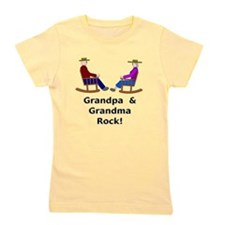 Grandpa Grandma Rock Girl's Tee